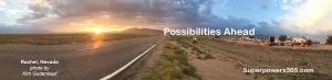 Possibilities Ahead Rachel, Nevada