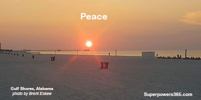 Sunrise Peace at Gulf Shores, Alabama