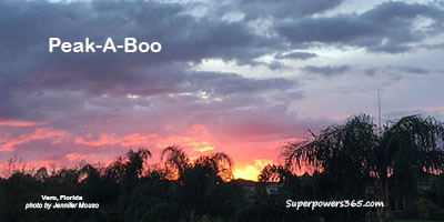 Sunrise Peek-A-Boo Vero Florida