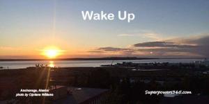 Sunrise Wake Up Anchorage Alaska