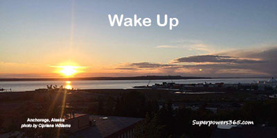 Sunrise Wake Up Anchorage Alaska