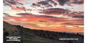 Sunrise Relax Reno Nevada