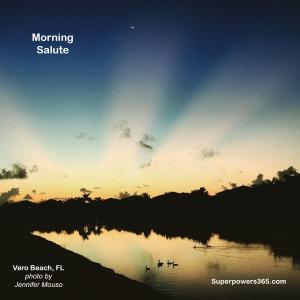 Sunrise Vero Beach, FL Morning Salute