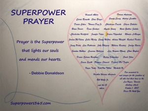 Superpower Prayer Memorial